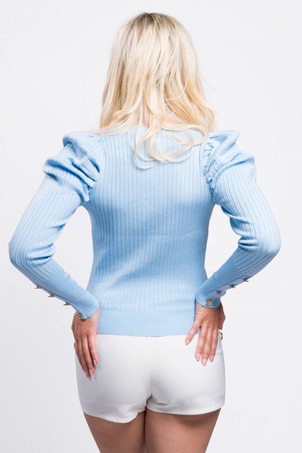 cardigan-femme-court-bleu