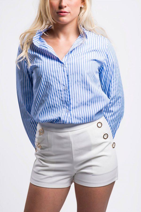 chemise-bleu-rayée
