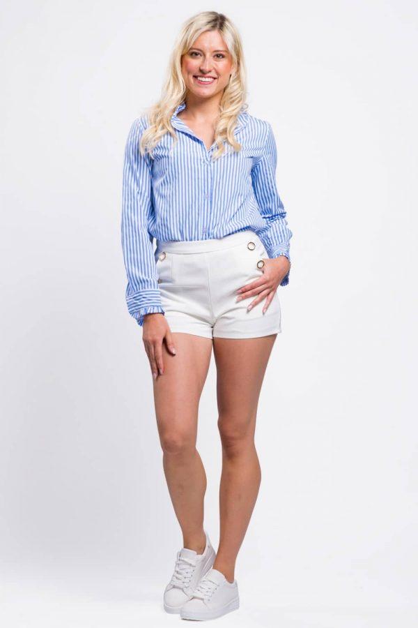 chemise-manche-longue-femme-bleu