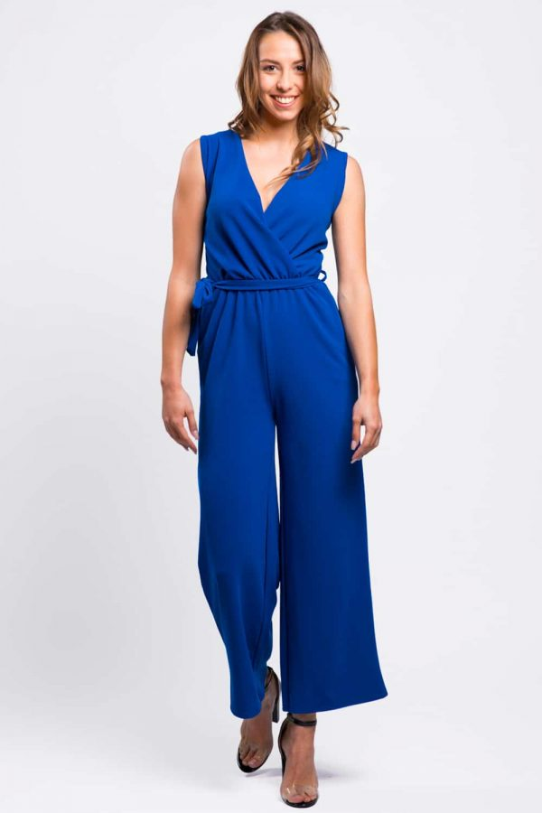 combinaison-pantalon-bleu