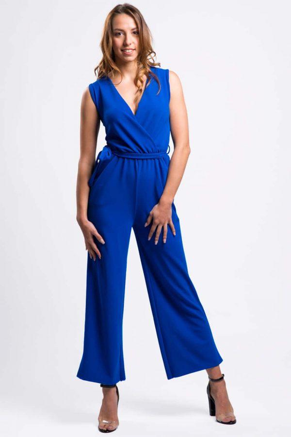 combinaison-pantalon-bleu-fluide