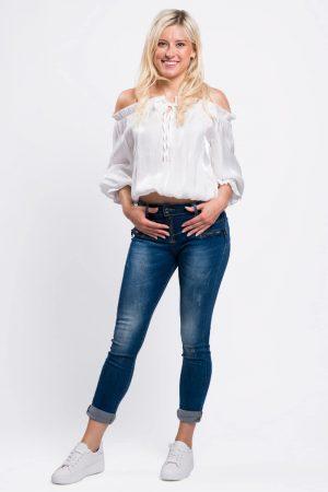 jeans coton femme