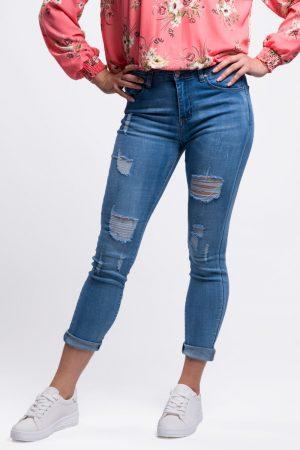 jeans déchiré femme