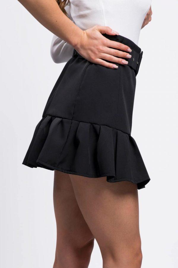 jupe-noir-vêtement-femme