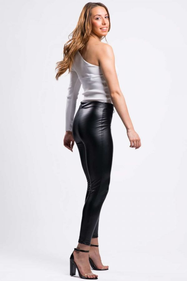 leggings simili cuir