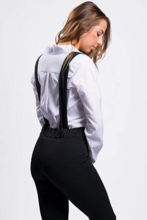pantalon bretrelle femme