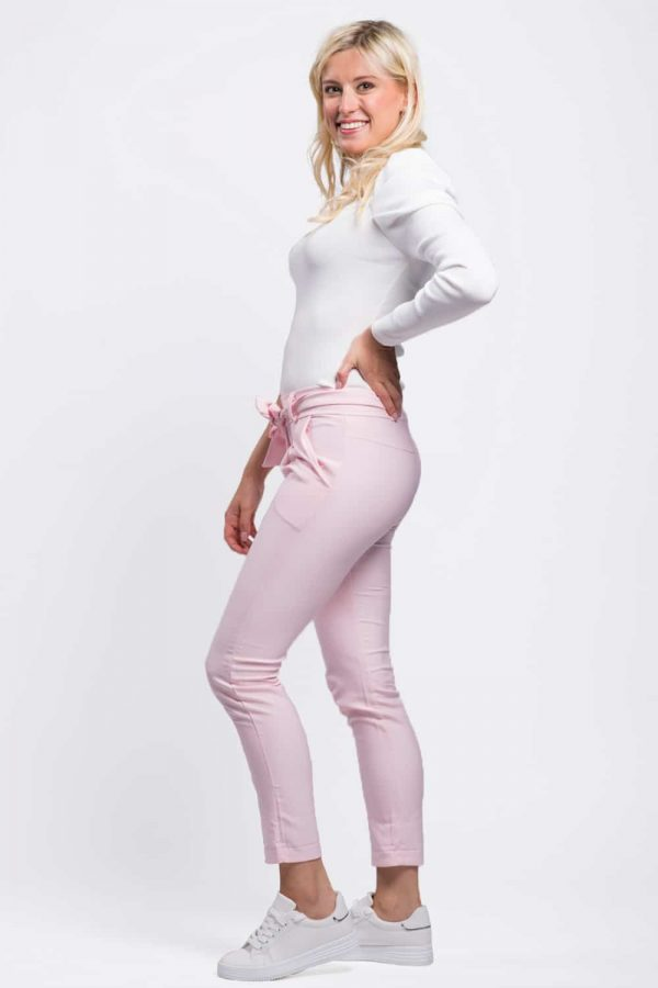 pantalon rose pas cher