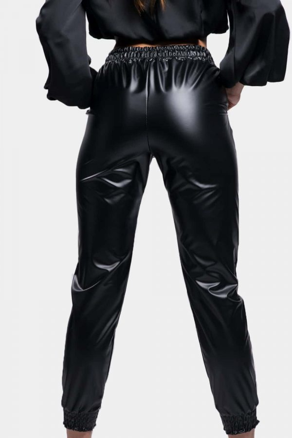 pantalon simili cuir pas cher