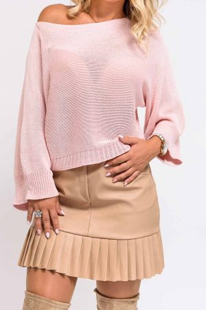 pull coton femme