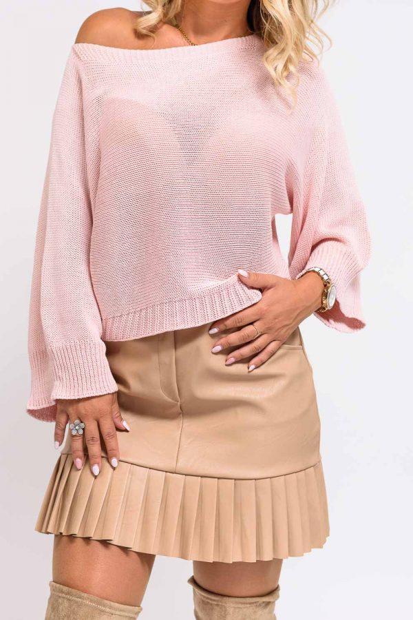 pull coton femme