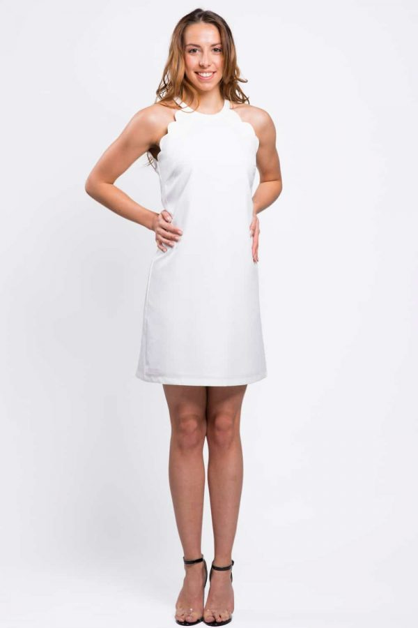 robe-blanche-ondulée