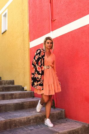 robe-orange-chic-evasee