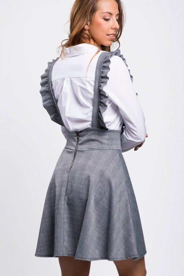 robe-salopette-évasée