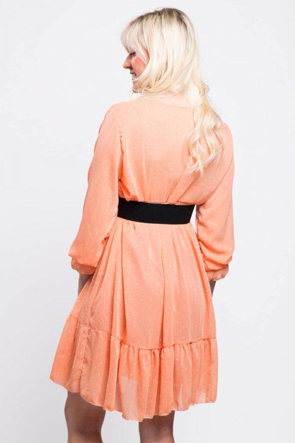 robe-soirée-orange