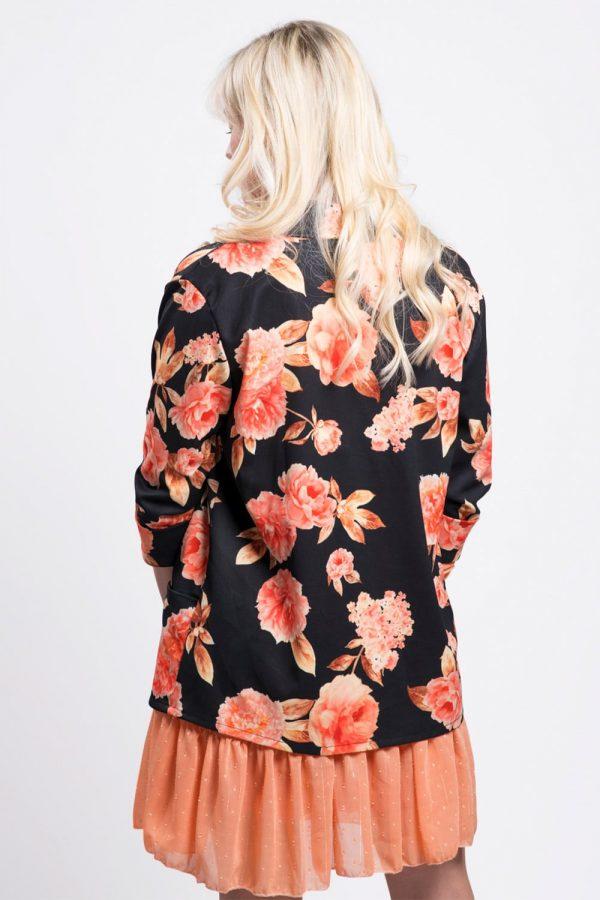 veste-noir-blazer-fleuri-printemps-femme