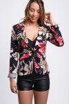 veste-fleurie-femme-noire