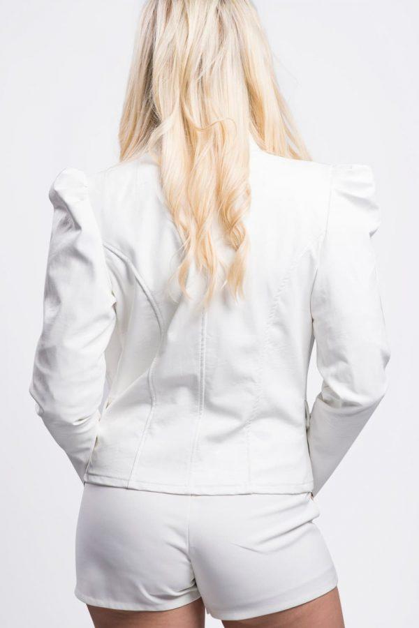 veste-pas-cher-similicuir-blanche-boutons-dorés