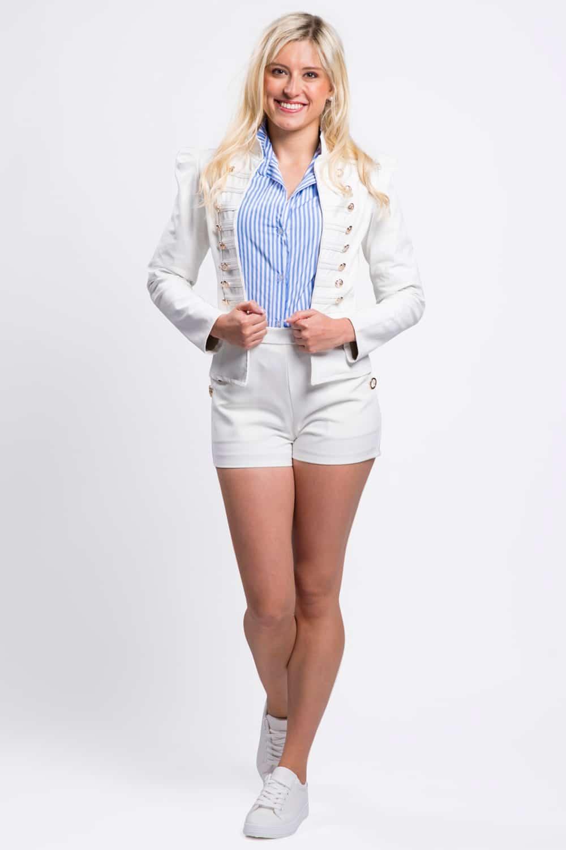 veste-similicuir-blanche-boutons-dorés
