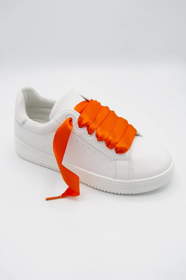 sneakers-lacet-orange