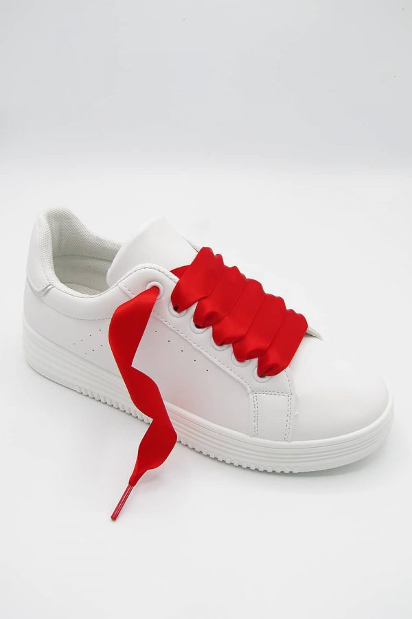 sneakers-lacet-rouge