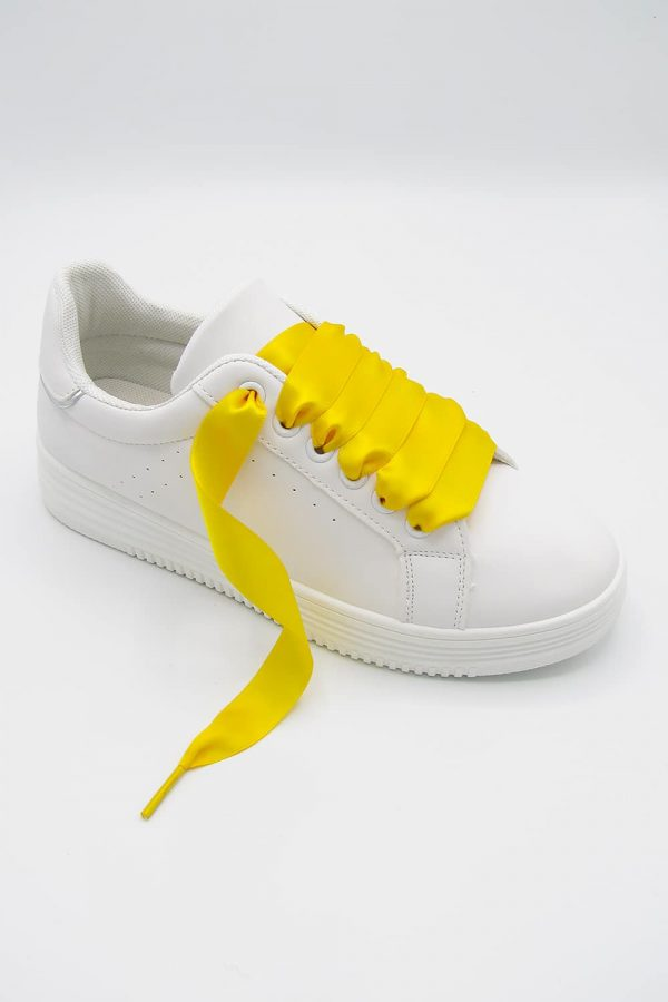 sneakers-lacet-jaune