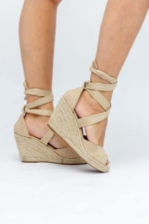 chaussure-femme-compensee-beige-pas-cher
