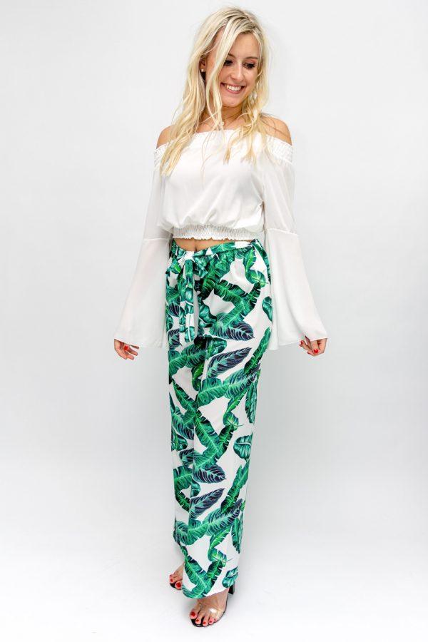 pantalon femme palazzo
