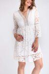 robe blanche casual