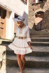robe-blanche-dentelle-boheme-courte