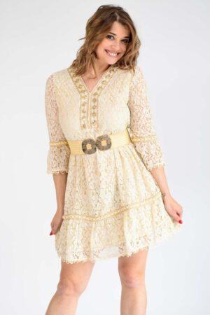 robe bohème courte
