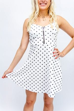 robe patineuse blanche