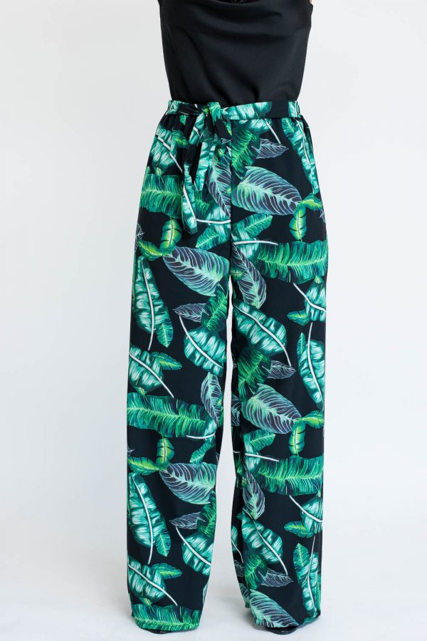 pantalon palazzo imprime