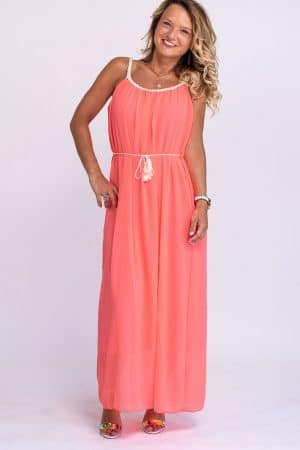 robe corail fluo