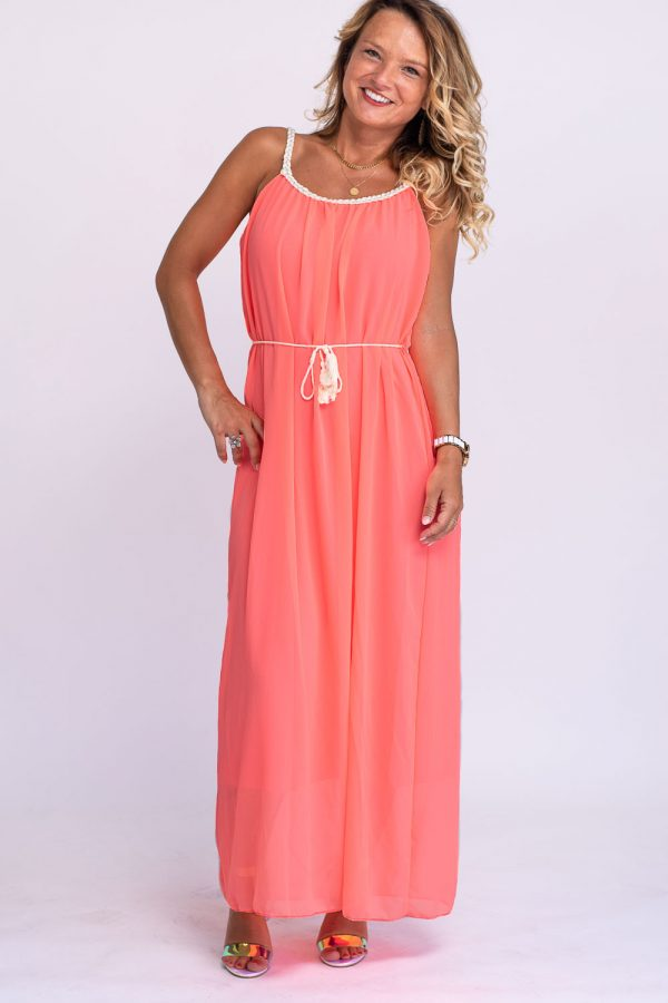 robe corail fluo
