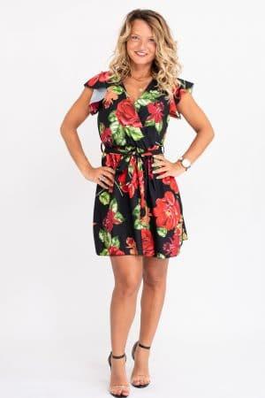 robe imprimee fleurs