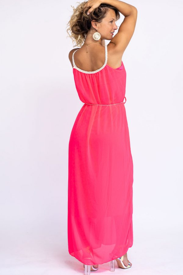 robe longue fluo