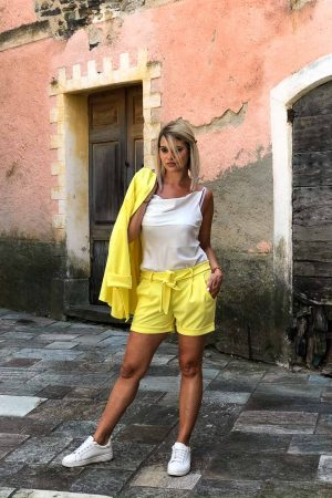 ensemble 2 piece jaune