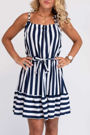 robe femme marine