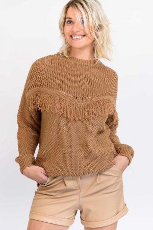 pull crochet camel