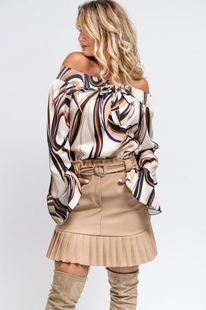 top chic marron