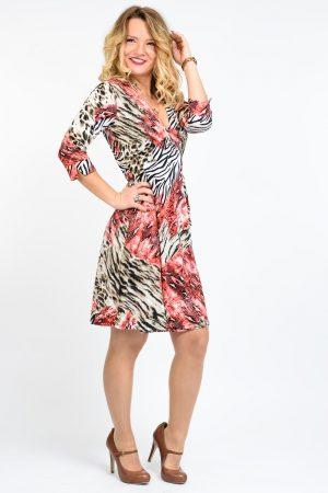 robe imprimé femme