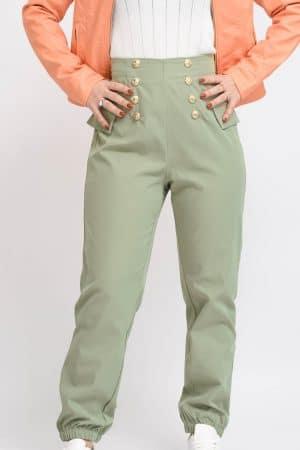 pantalon sporstwear kaki