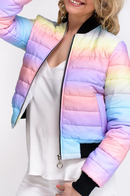 veste multicolore femme