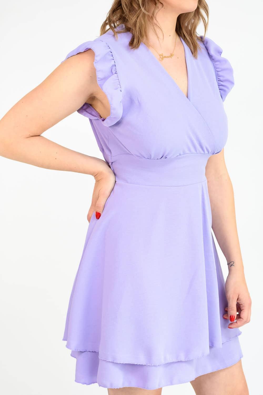 Robe été violette