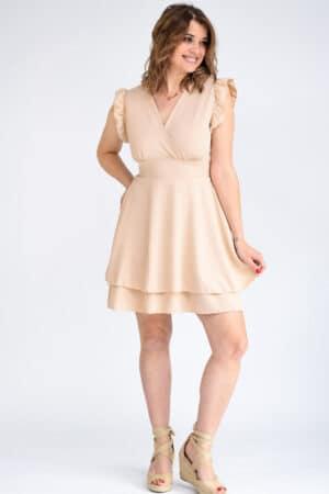 robe été beige