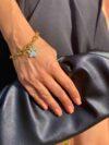 bracelet pâtes de chien femme