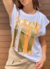 tee-shirt blanc femme