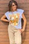 tee-shirt en coton femme