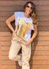 tee-shirt imprimé femme