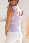 top violet femme